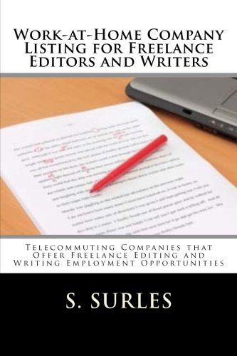 Work-at-Home Company Listing for Freelance Editors and Writers. Order: https://www.paypal.me/HEA/19.95 - Ebook contains hundreds of companies hiring home assembly and craft workers each year nationwide and globally. Purchase today for only $19.95. Free lifetime updates, no scams and no monthly fees. #ebook #freelance #editors #writers #workathome #workfromhome #jobs #jobsearch #careers #telecommuting