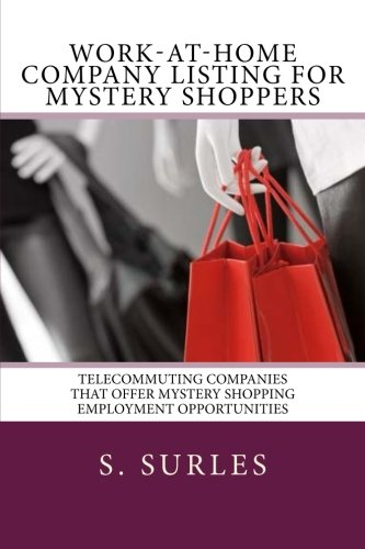Work-at-Home Company Listing for Mystery Shoppers. Order: https://www.paypal.me/HEA/9.95 - Ebook contains hundreds of companies hiring home assembly and craft workers each year nationwide and globally. Purchase today for only $9.95. Free lifetime updates, no scams and no monthly fees. #ebook #mysteryshopper #mysteryshopping #workathome #workfromhome #jobs #jobsearch #careers #telecommuting