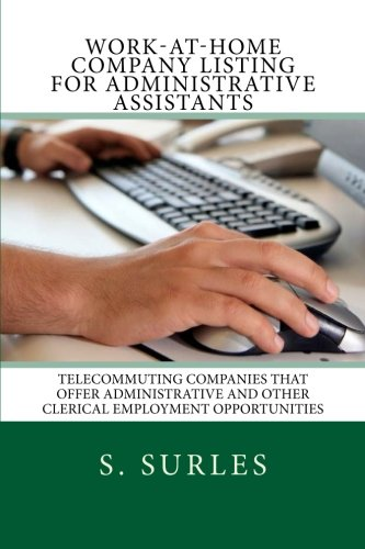 Work-at-Home Company Listing for Administrative Assistants. Order: https://www.paypal.me/HEA/19.95 - Ebook contains hundreds of companies hiring virtual administrative assistants each year nationwide and globally. Purchase today for only $19.95. Free lifetime updates, no scams and no monthly fees. #ebook #administrativeassistant #workathome #workfromhome #jobs #jobsearch #careers #telecommuting