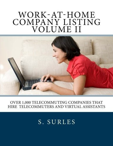 Work-at-Home Company Listing - Volume 2